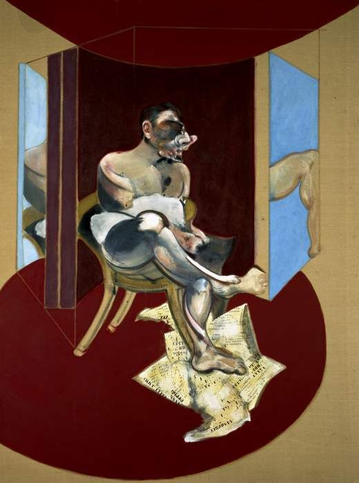 Une image mythologique de Francis Bacon