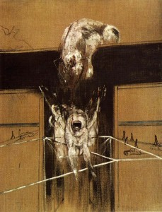 Francis BACON, Fragment d'une Crucifixion, 1950